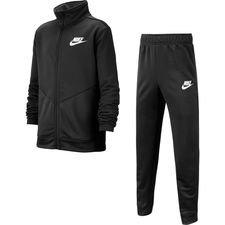 Nike Trainingsanzug NSW Core Futura - Schwarz/Weiß Kinder