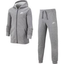Nike Trainingspak Core NSW - Grijs/Grijs/Wit Kinderen