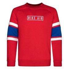 Nike Air Sweatshirt Crew - Rød/Blå/Hvid Børn thumbnail