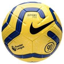 Nike Fotboll Strike Pro Premier League - Gul/Blå/Svart