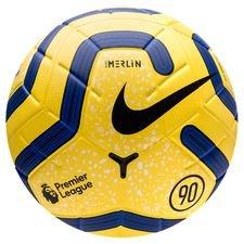 Nike Fotboll Merlin Premier League - Gul/Blå/Svart