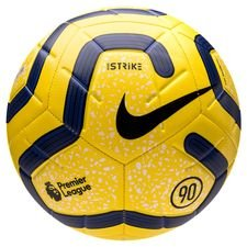 Nike Fotboll Strike Premier League - Gul/Blå/Svart