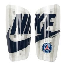 Paris Saint-Germain Benskydd Mercurial Lite - Vit/Silver/Navy