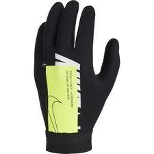 Nike Air Spielerhandschuhe Academy Hyperwarm - Schwarz/Neon/Weiß Kinder