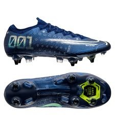Nike Mercurial Vapor 13 Elite SG-PRO - Navy/Neon/Sort