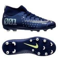 Nike Mercurial Superfly 7 Club MG Dream Speed - Navy/Neon/Sort Børn