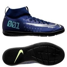 Nike Mercurial Superfly 7 Academy IC Dream Speed - Navy/Neon/Svart Barn