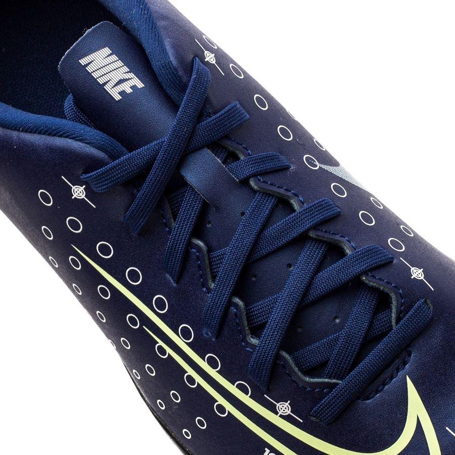 Nike Mercurial Vapor 13 Club IC Dream Speed BleuJaune FluoNoir Enfant