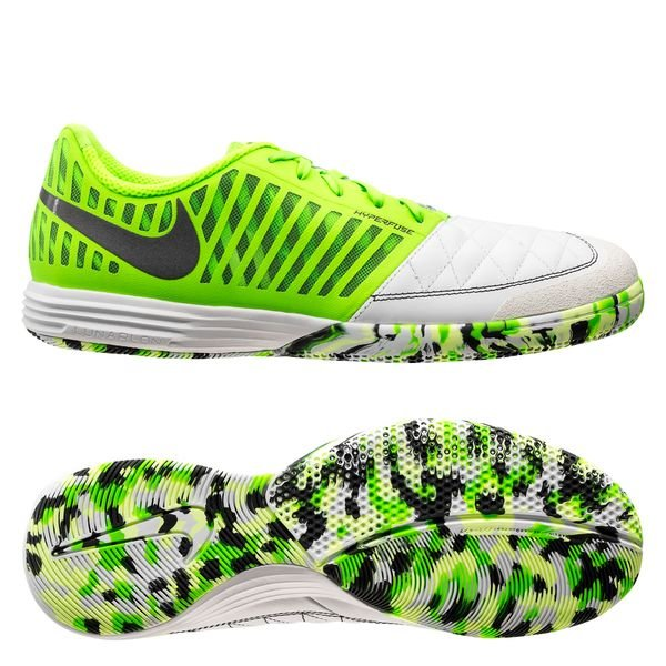 Nike Lunargato II IC BlancGrisVert