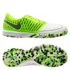 Nike Lunargato II IC - Vit/Grå/Grön