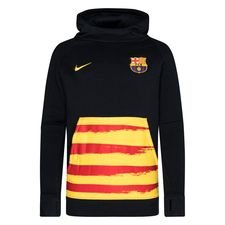 Barcelona Fleece Luvtröja Senyera - Navy/Gul