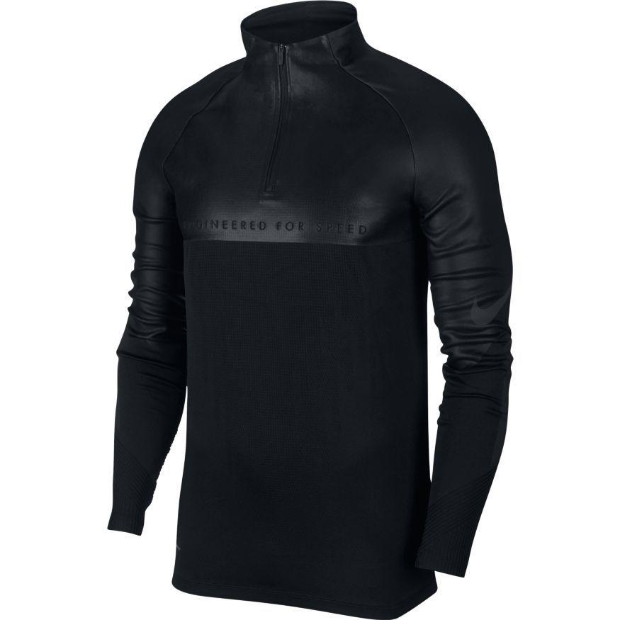 Nike Træningstrøje Strike VaporKnit - Sort/Sølv thumbnail