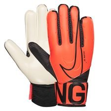 Nike Torwarthandschuhe Match Fire - Orange/Schwarz Kinder