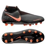 Nike Phantom Vision Elite DF AG-PRO Fire - Gris/Orange/Noir