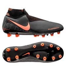 Nike Phantom Vision Elite DF AG-PRO - Grå/Orange/Sort