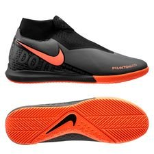 Nike Phantom Vision Academy DF IC - Grå/Orange/Sort