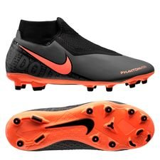 Nike Phantom Vision Academy DF MG Fire - Grå/Orange/Sort