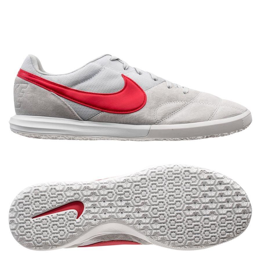 Nike Premier II Sala IC - Grå/Rød/Hvid thumbnail