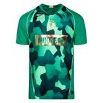 Nike Training T-Shirt Dry Mbappé x Bondy - Lucid Green HTR/Electro Green/Metallic Gold LIMITED EDITION