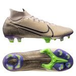 Nike Mercurial Superfly 7 Elite FG Terra - Beige/Sort/Lilla