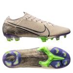 Nike Mercurial Vapor 13 Elite FG Terra - Beige/Sort/Psychic Purple