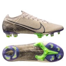Nike Mercurial Vapor 13 Elite FG - Beige/Sort/Lilla