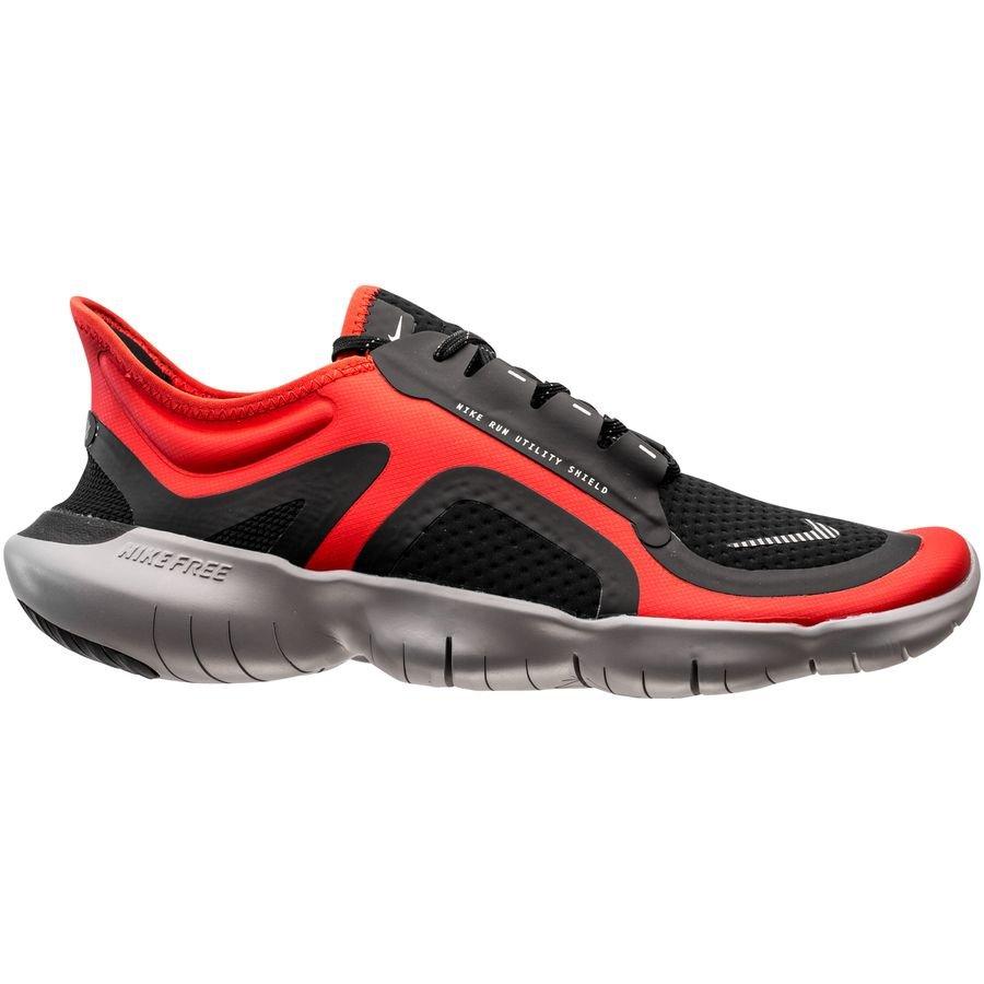 Nike Løbesko Free 5.0 Shield RødSølvSort
