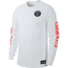 Nike T-Shirt Jordan x PSG - Vit/Röd LIMITED EDITION
