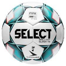 Select Fotboll Brillant Super TB V20 3F Superliga - Vit/Grön
