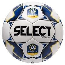 Select Fotboll Brillant Replica V20 Allsvenskan - Vit/Blå