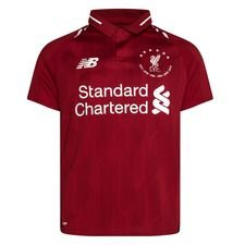 Liverpool Hemmatröja 2018/19 6 Times Phase 1 Barn LIMITED EDITION
