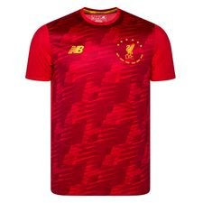 Liverpool Lightweight Tränings T-Shirt 6 Times Phase 1 - Röd/Guld LIMITED EDITION