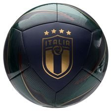 Italien Fotboll Icon - Grön/Navy/Guld
