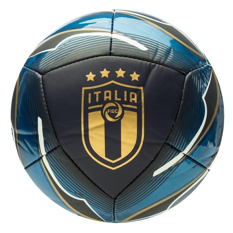 Italien Fodbold Icon Mini – Blå/Hvid/Guld