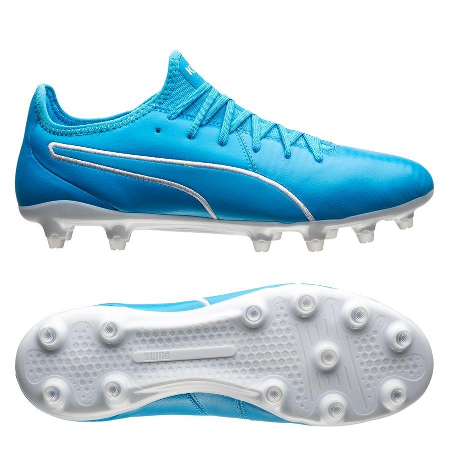 PUMA King Pro FG - Luminous Blue/PUMA White