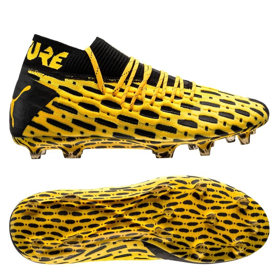 PUMA Future 5.1 Netfit FG/AG Spark - Ultra Yellow/PUMA Black