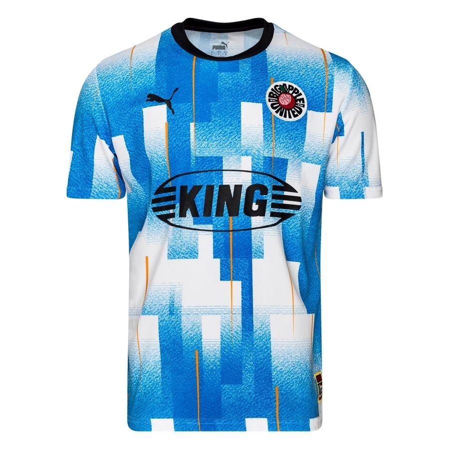 PUMA Football Shirt New York City Influence - Blue/PUMA White
