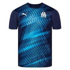 Marseille Tränings T-Shirt Stadium - Navy/Vit