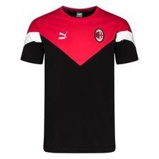 Milan T-Shirt Iconic - Svart/Röd