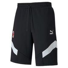Milan Shorts Iconic - Svart/Vit