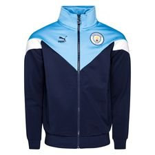 Manchester City Track Top Iconic - Navy/Blå