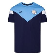 Manchester City T-Shirt Iconic - Navy/Blå