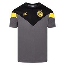 Dortmund T-Shirt Iconic - Svart/Grå