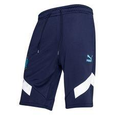 Marseille Shorts Iconic - Navy/Vit