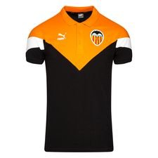 Valencia Polo Iconic - Schwarz/Orange/Weiß