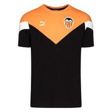 Valencia T-Shirt Iconic - Svart/Orange