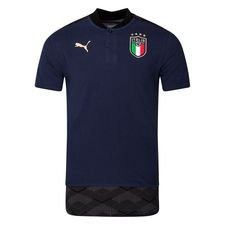 Italien Polo Casuals - Navy/Team Gold