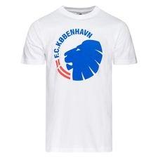 Köpenhamn T-Shirt FCK logo - Vit