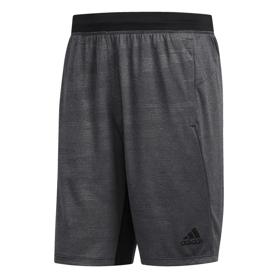 4KRFT Winterized Embossed shorts, 23 cm Black thumbnail