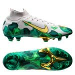 Nike Mercurial Superfly 7 Elite FG Mbappé x Bondy - Vast Grey/Metallic Vivid Gold/Electro Green LIMITED EDITION